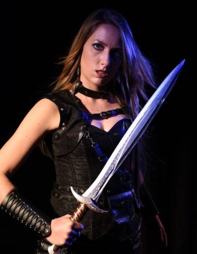 Roman fantasy épée Shooting Aléane