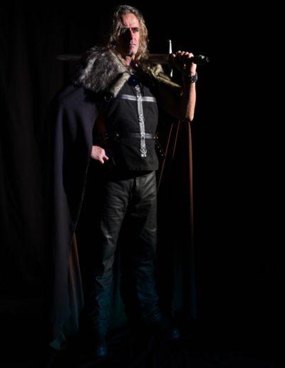 Roman fantasy guerrier médiéval shooting Beïssel