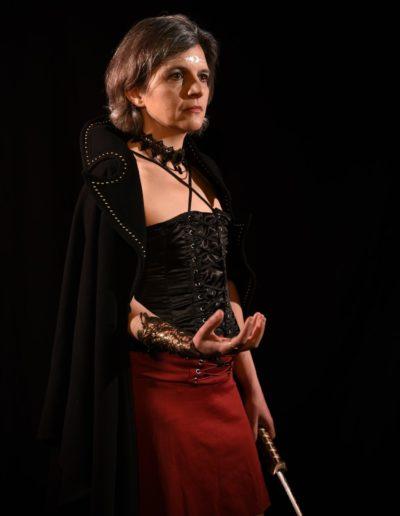 Roman fantasy shooting Cassandra