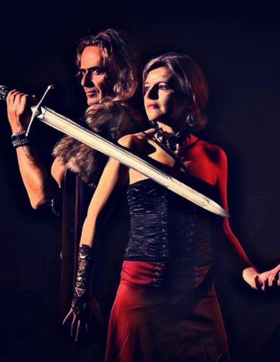 Sorcière amour fantasy shooting