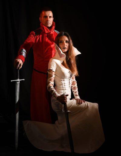 Sorcière guerrier roman fantasy shooting